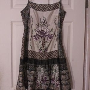 Desigual dress with straps size 38